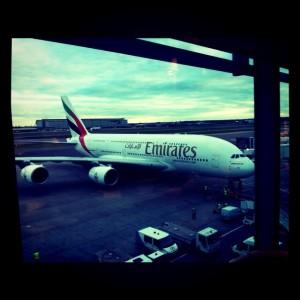 l'avion du XV de France pour la Nouvelle Zélande
